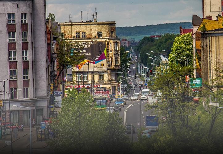 Szkoła Tańca Chorzów - foto ulica główna