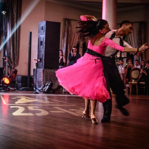 Taniec Towarzyski Pokaz Tańca