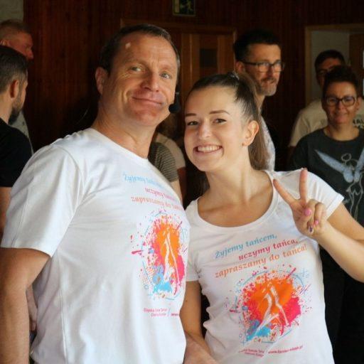 Śląska Szkoła Tańca Dariusz Kurzeja - koszulki dla Klubów Tańca